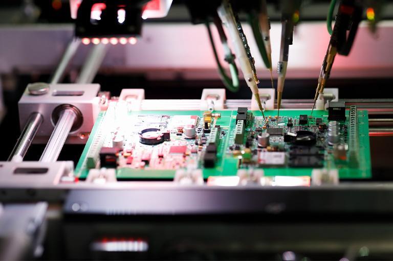 Elektronika maszyn przemysłowych