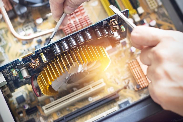 Naprawa elektroniki maszyn sprzątających